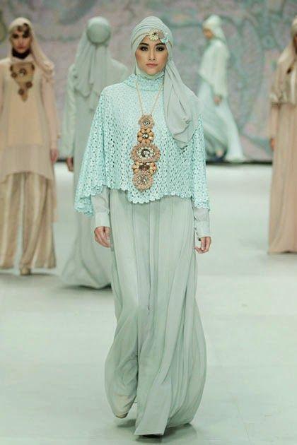 20 Foto Desain Baju Pesta Muslim Glamour Terpopuler Kumpulan