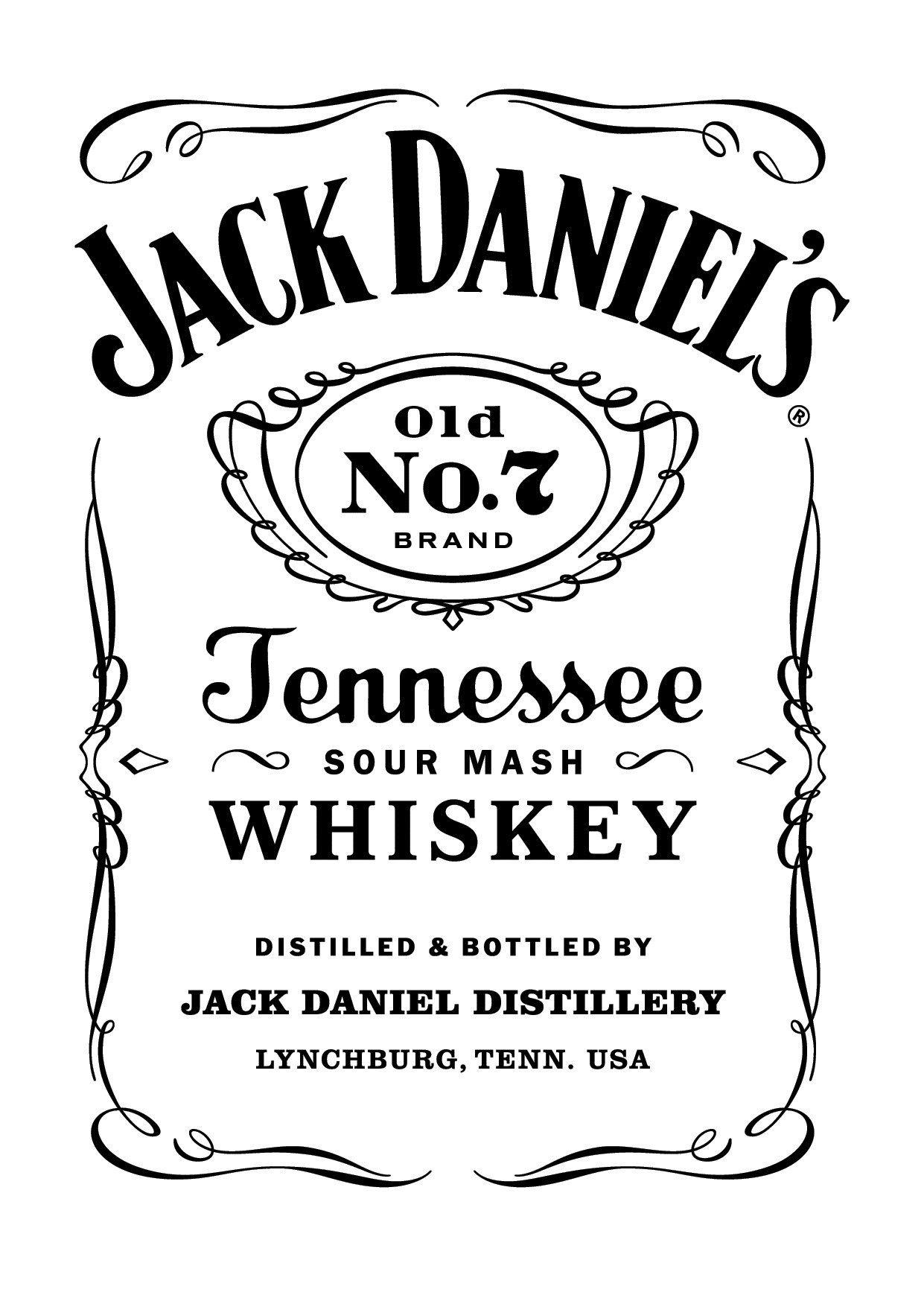Estampa Jak Daniels | use | Pinterest | Silhouetten, Alkohol und ...