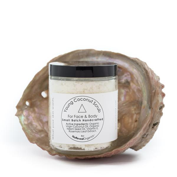 out of stock young coconut scrub  coconut scrub homemade
