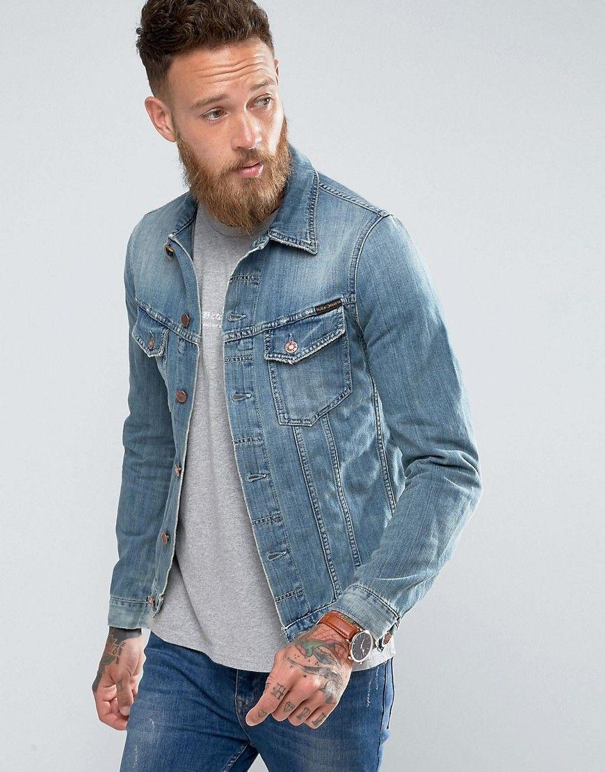2d237e8dea Nudie Jeans Co Billy Denim Jacket Light Shades - Blue