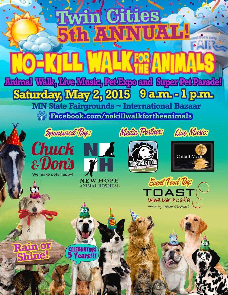 NoKill Walk for the Animals Pet parade, Animals, Walking