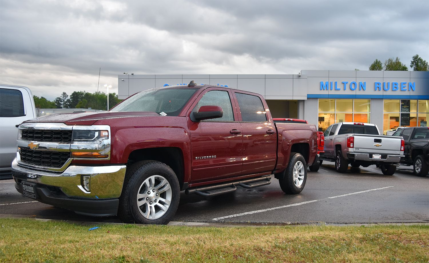 We're proud to have Silverado strength on our lot. Chevy