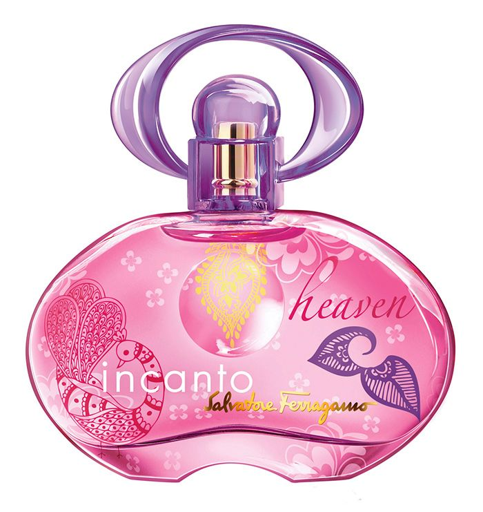Salvatore Ferragamo's latest Incanto Heaven Golden Petals Edition #perfume