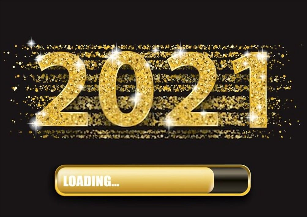 happy new year 2021 wallpapers in 2020 Happy new year