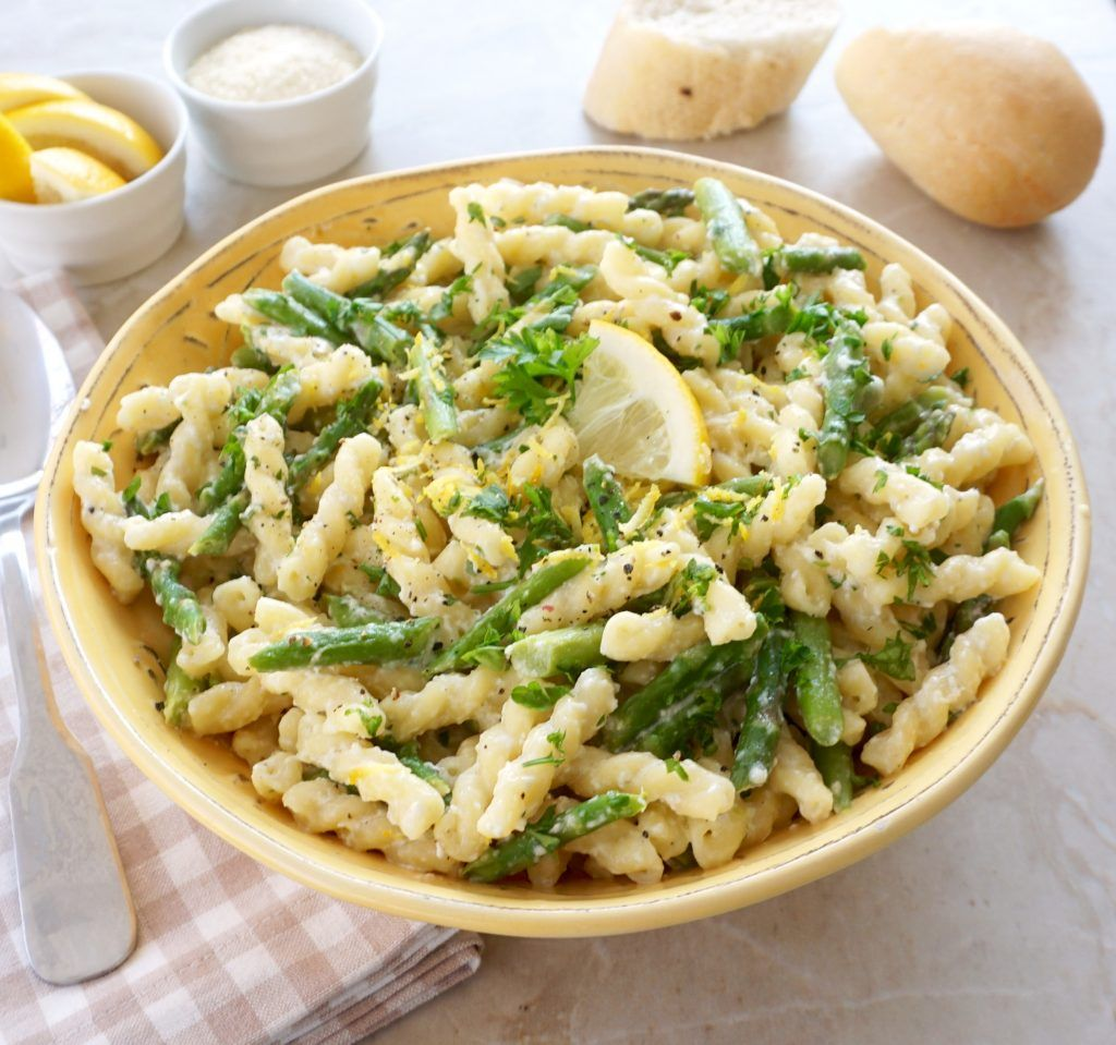Lemon Asparagus Pasta images