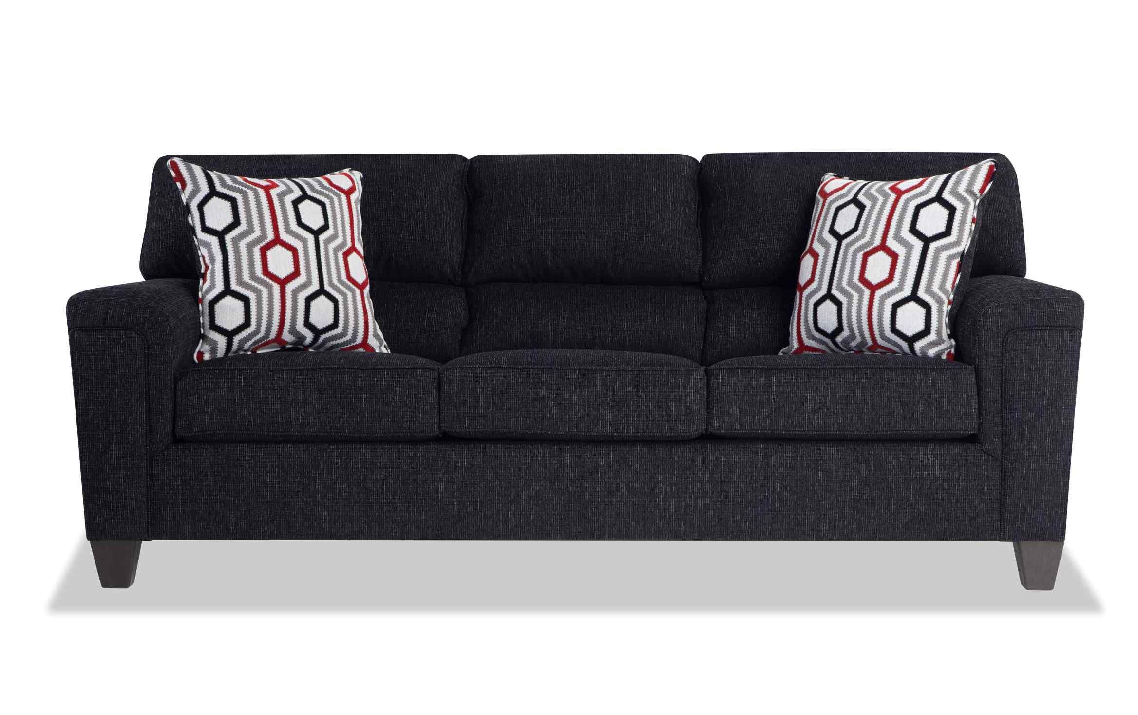 Calvin Concrete Gray Sofa in 2020 Beige sofa, Bob's