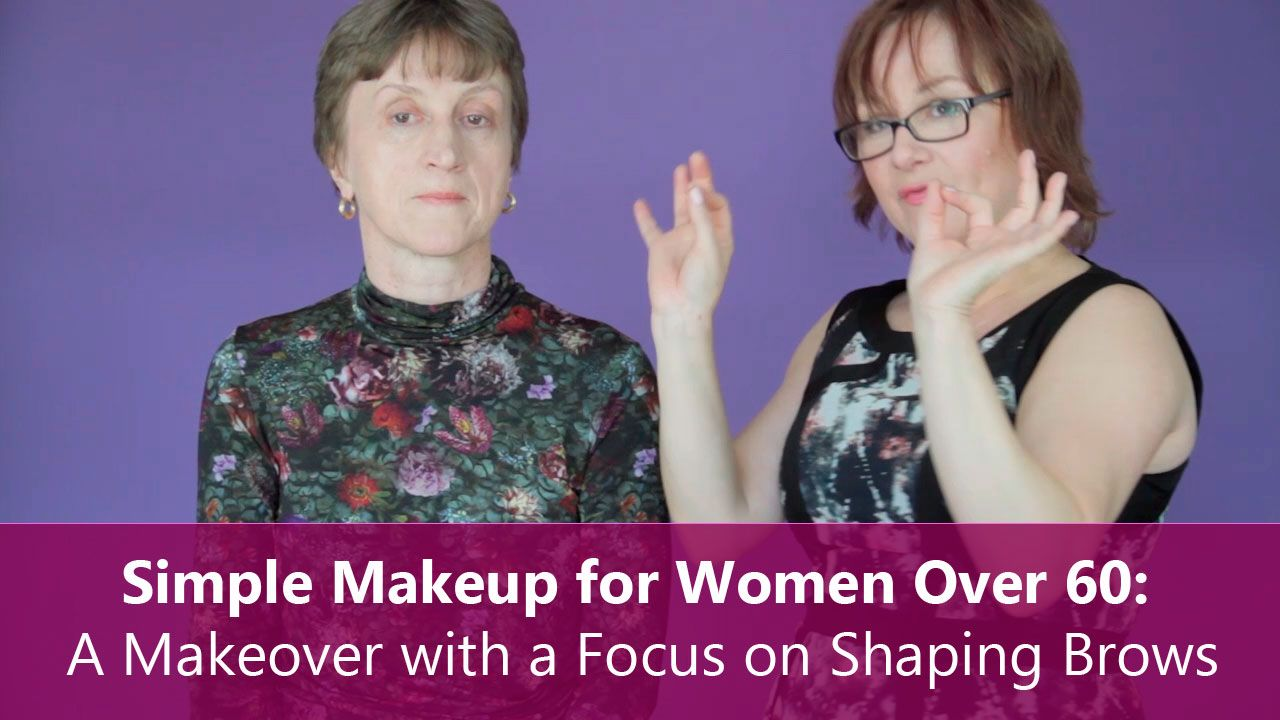Simple Makeup for Women Over 60: A Makeover with a Focus on