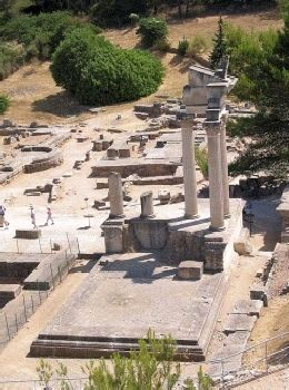 Glanum (St. Remy), one of the most important Roman excavations in France.