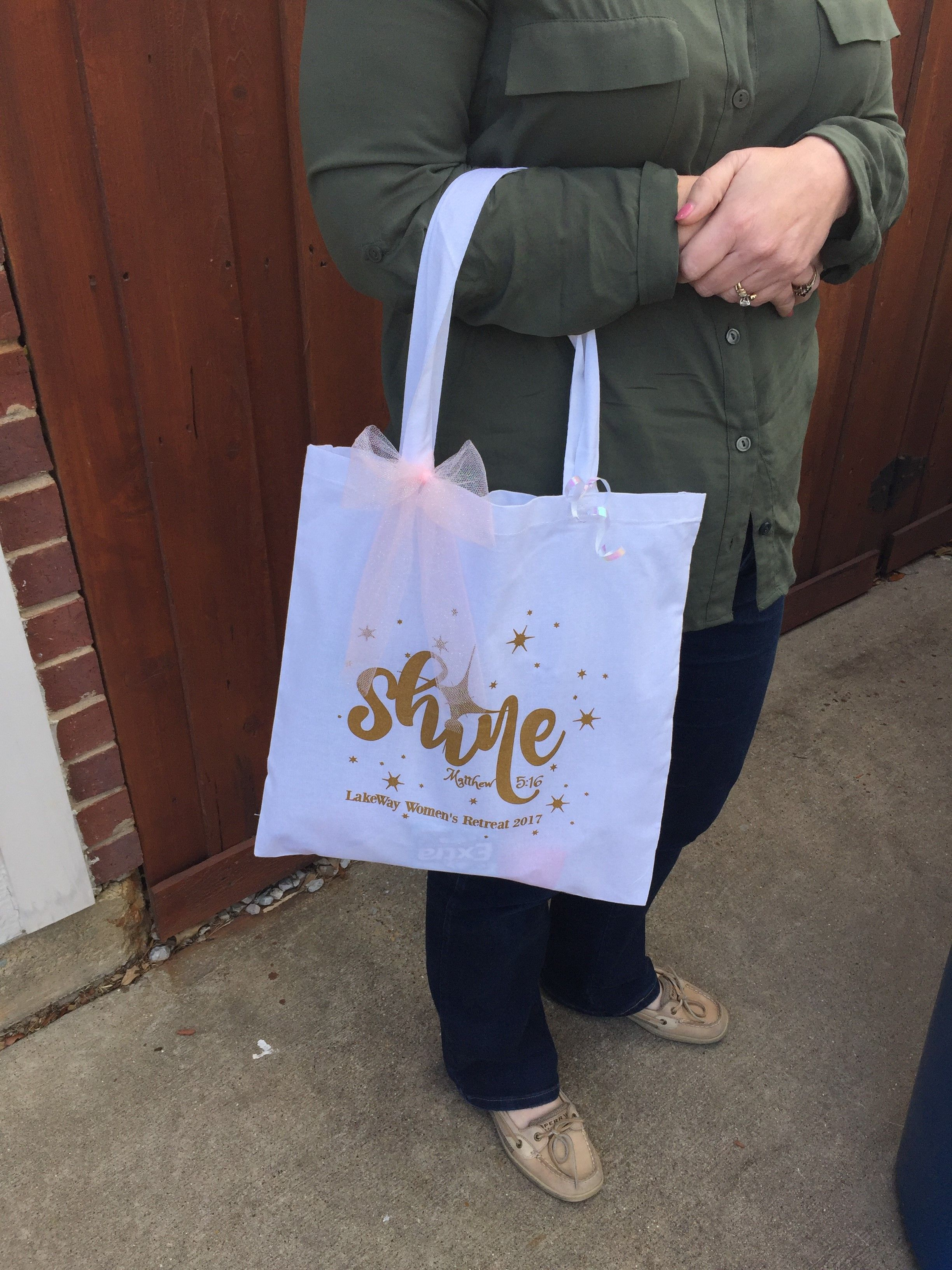 This past spring we worked with LakeWay Baptist Church and provided tote  bags for their 2017 Women s Ministry Retreat. They used one of our favorite  imprint ... 11d43a916e