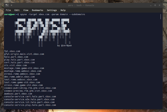 Spyse Py - Python API Wrapper And Command-Line Client For