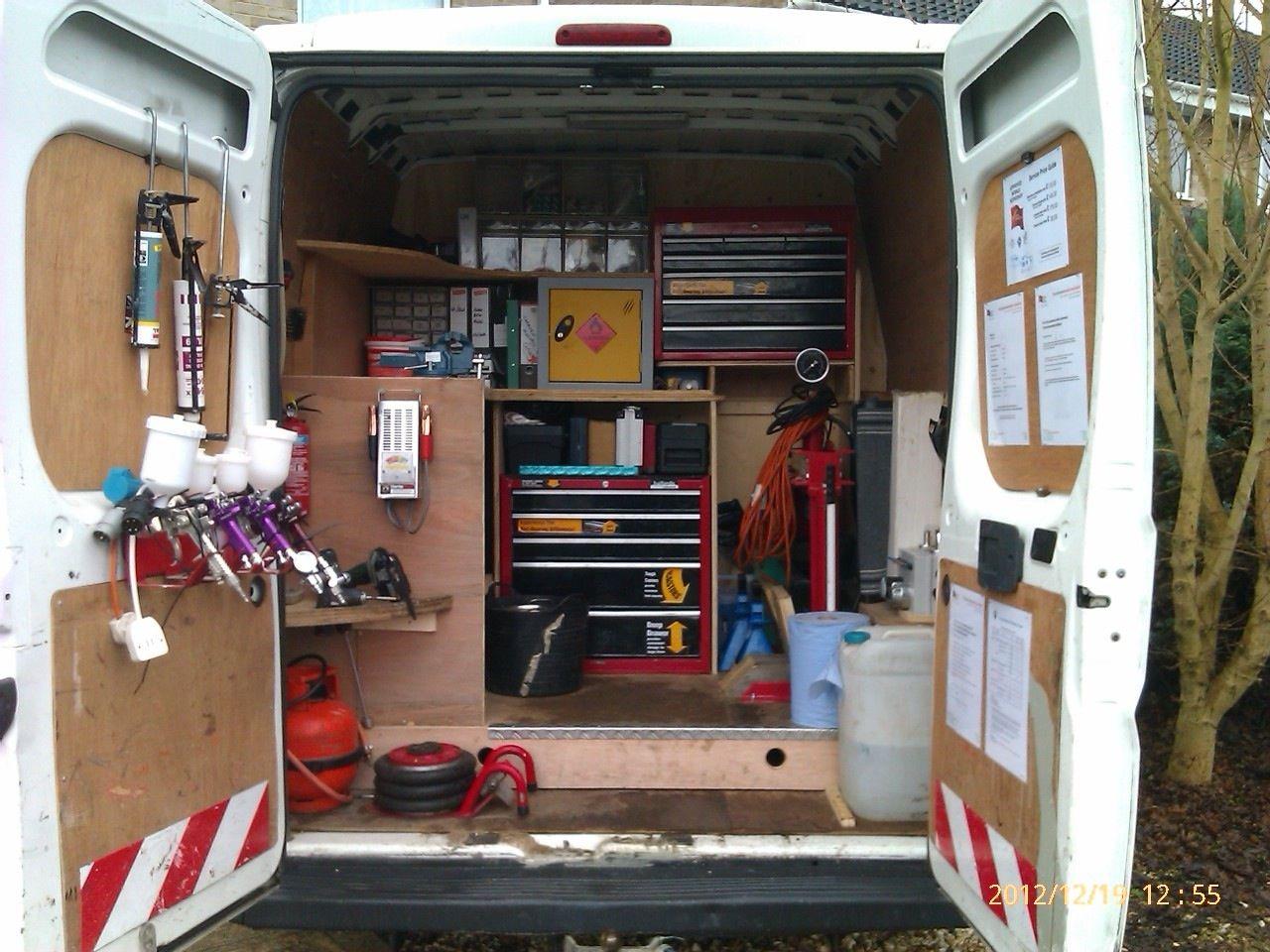Van Racking Thisiscarpentry Combi Alat Police Van