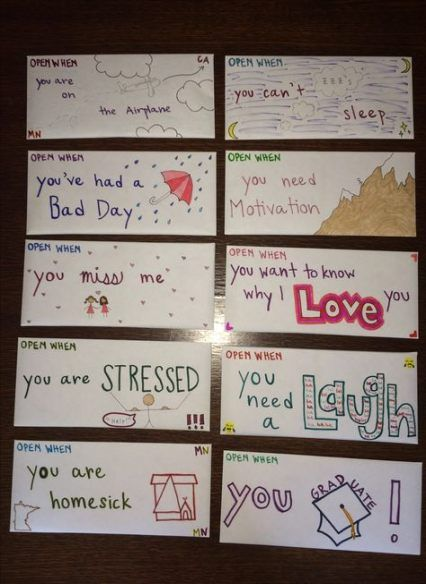 Birthday Card For Girlfriend Open When Letters 47 Trendy Ideas