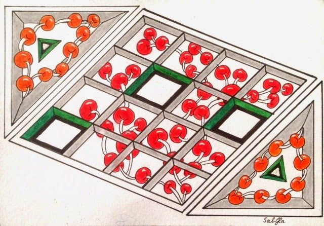 Lieschens-Bilder: Zentangle 204 Weekly Challenge #208