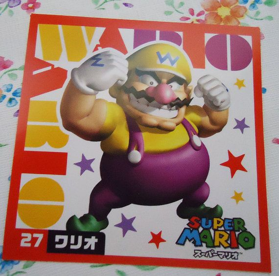 Super Mario Bros Authentic Four Japanese by SweetVintageGoods