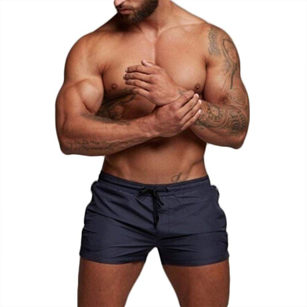 Aquarti Maillot de Bain pour Homme Boxer avec Poche