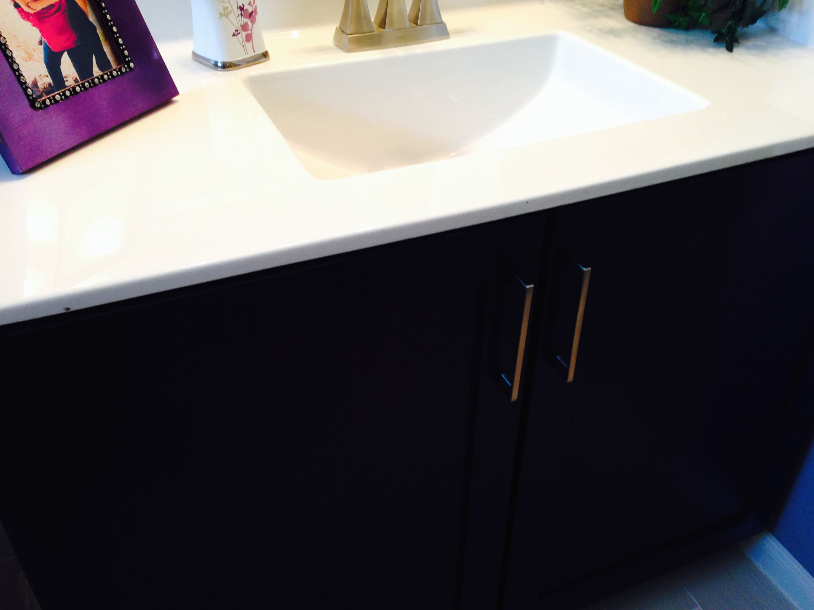 Cultured Marble Vanity Top With