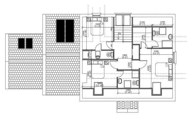 22 x27 1BHK East Facing House Plan As Per Vastu Shastra Autocad Drawing File Details
