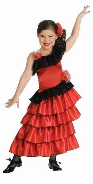 Flamenco Kostum Kinder Spanische Prinzessin Kostume Diverse