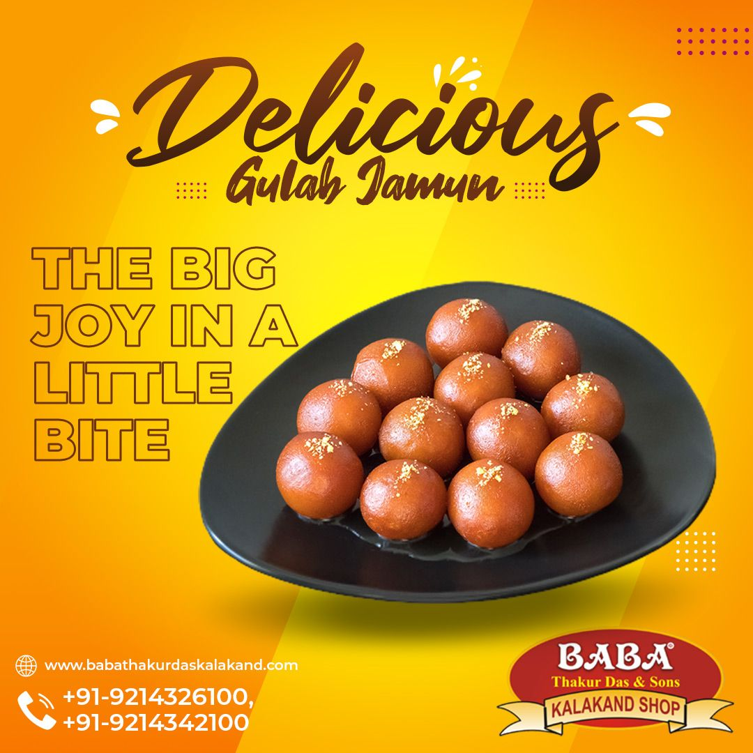 Did You Know? The Desi Version of Doughnut is Gulab Jamun🤤 Baba Thakur Das & Sons always serve you the best and hygienic sweets. #gulabjamun #GulabJamunLove #yummysweets #indiansweets #cravingsolved #sweetdishes #sweetdessert #sweettooth #SweetToothSatisfied #QualityProducts #hygenicfood #healthyfood #foodislove #dessertlover #desertvibes