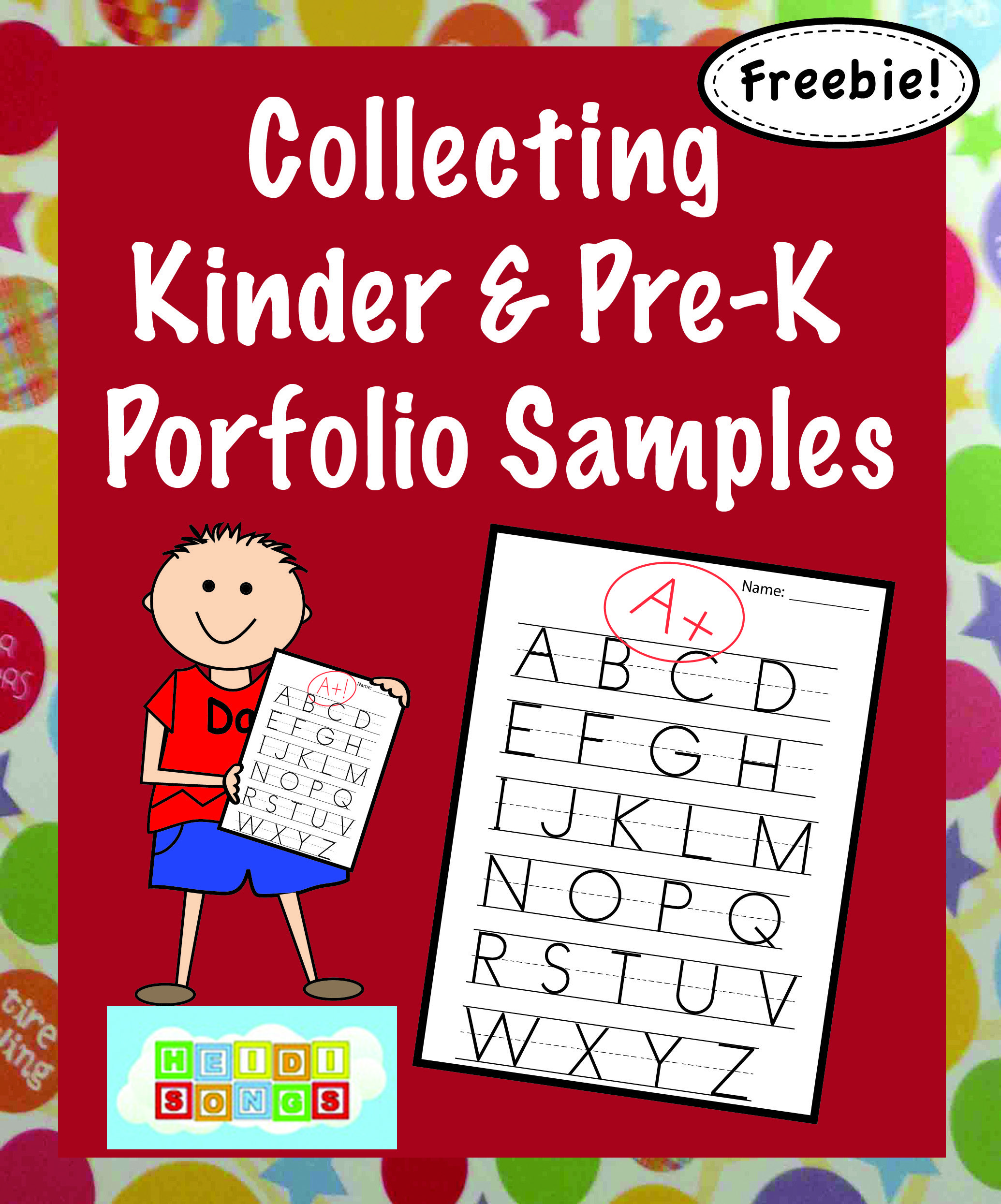 Collecting Kindergarten Portfolio Samples And The What To