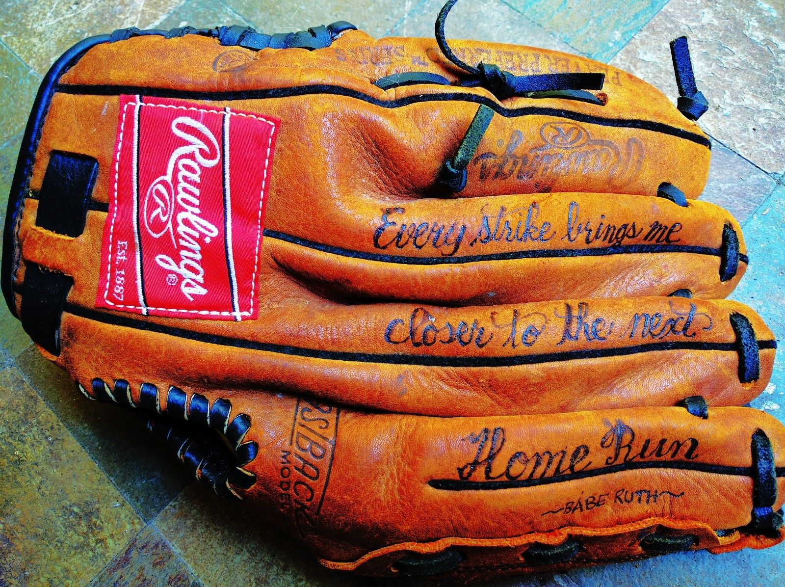 Leather Engraving And Embossing On A Baseball Glove Great Grooms Gift Or Corporate Gift Baseball Glove Baseball Monogram Personalized Baseballs