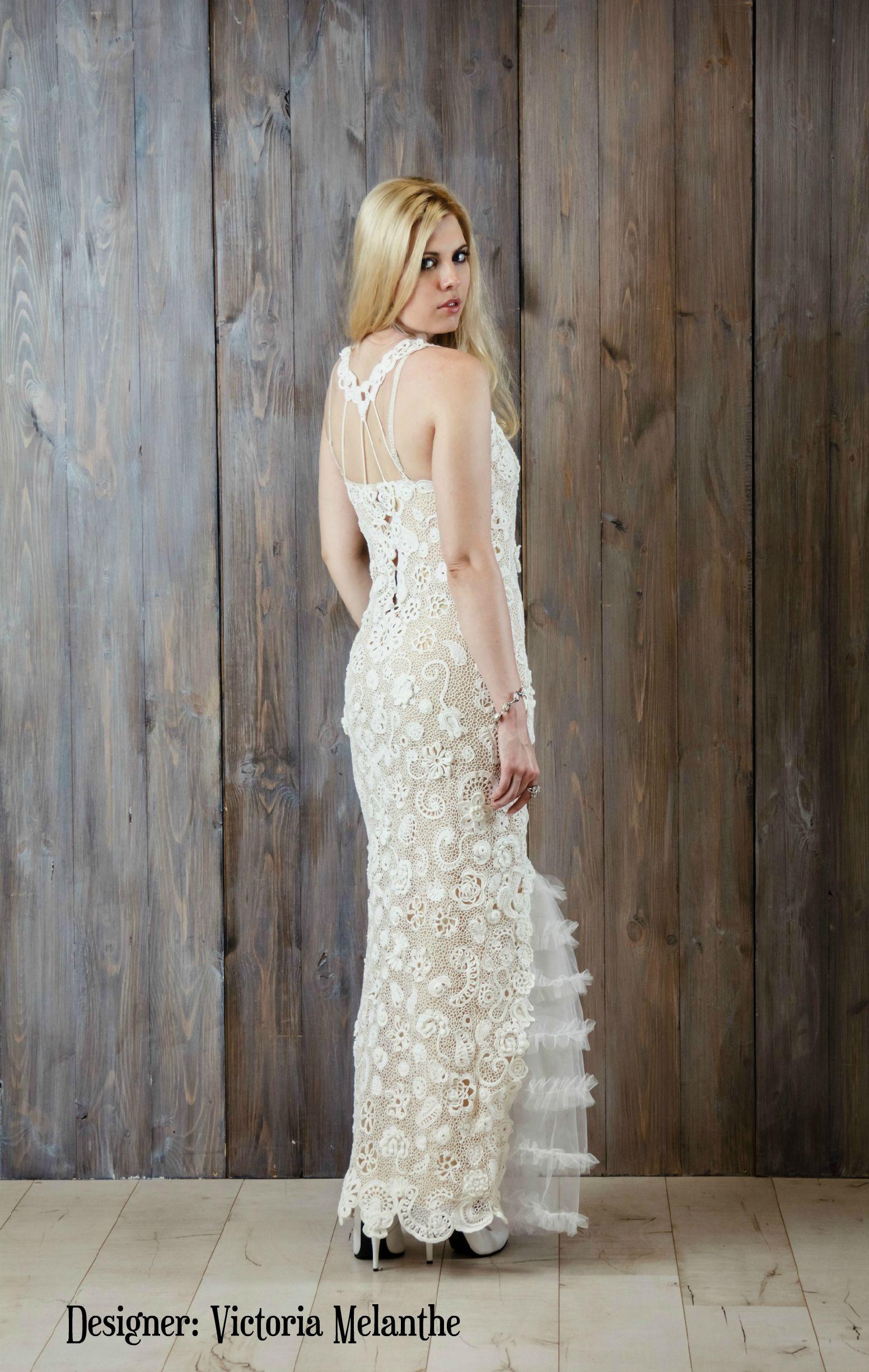 Lace dress wedding  Crochet wedding dressWedding dress Irish Laceroyal wedding dress