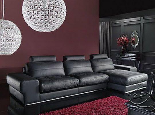 muebles de cuero para tu sala - para más información ingresa en ... - Pintura Para Salas De Piel