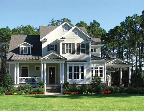 House Plan 699 00008 Traditional Plan 2 879 Square Feet 3 Bedrooms 2 5 Bathrooms In 2021 Colonial House Plans Coastal House Plans House Plans