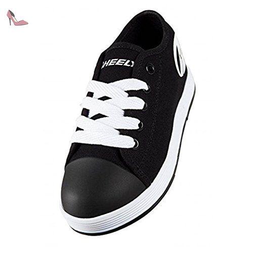 Heelys Chaussures de Skateboard Pour Fille - Noir - Noir/Blanc aN9QNsHk7,