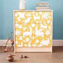 This dresser is so fun and the best part: Lena Corwin posted a step-by-step how to here. (via designscouting)