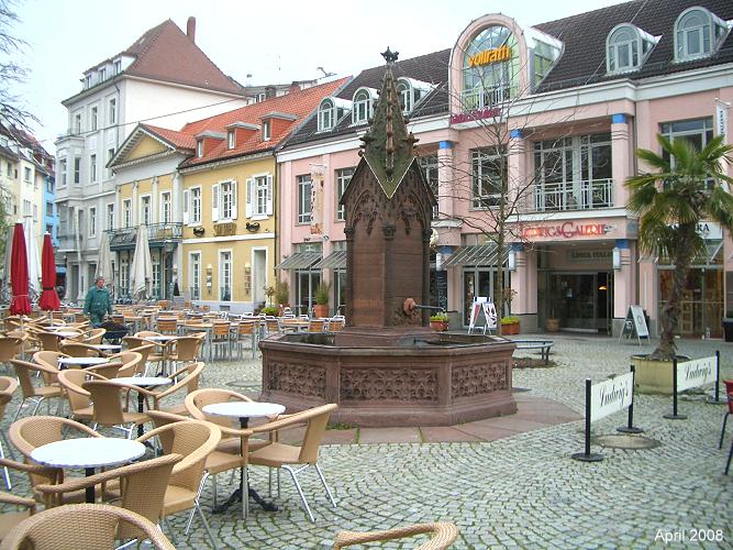 Ludwigplatz, Karlsrhue Germany