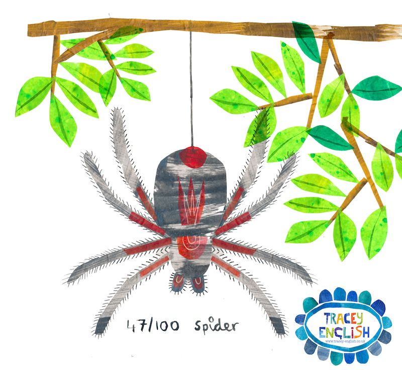 Spider by Tracey English www.tracey-english.co.uk