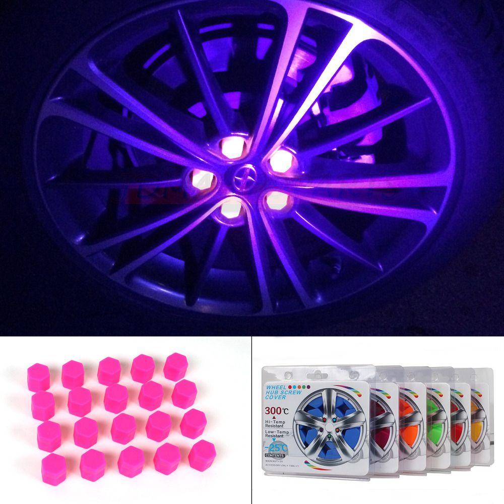 20x Car Accessories Exterior Wheel Rim Lug Nut Covers Glow In The Dark Fast Usa Ebay Motors Parts Accesso Car Accessories Girly Car Accessories Wheel Rims