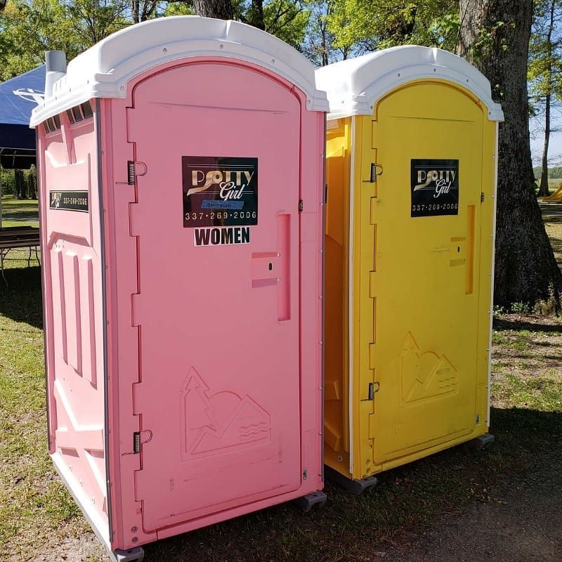Have you seen our porta potties on the road today potties