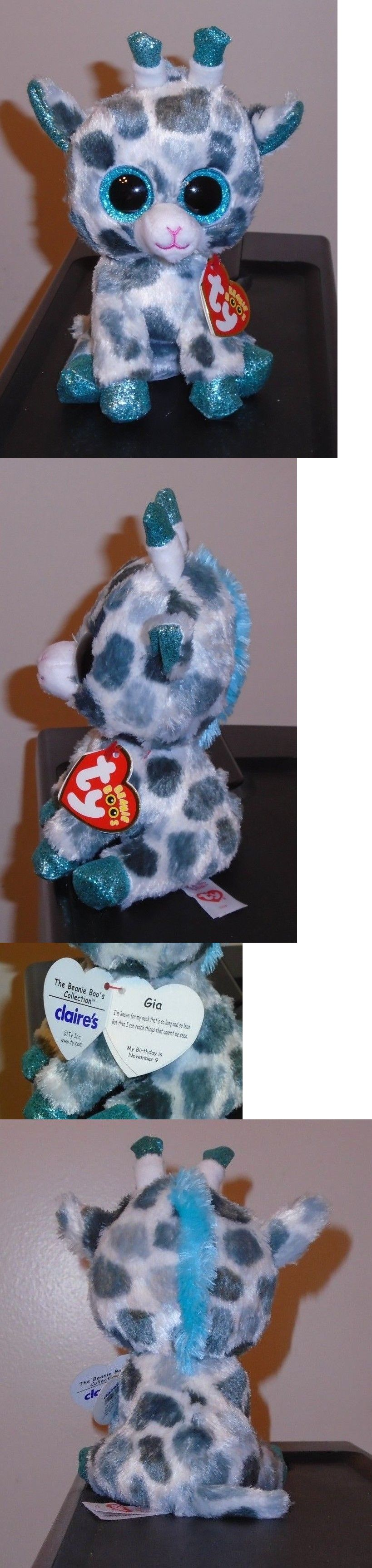 f3ccdf04ccd Current 438  Ty Beanie Boos ~ Gia The Giraffe 6 (Claire S Exclusive) New  Mwmt ~ In Hand -  BUY IT NOW ONLY   14.9 on  eBay  current  beanie  giraffe