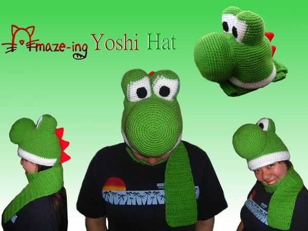 Yoshi Hat by maximillian611 on deviantART. | Outer Beauty: Clothes ...