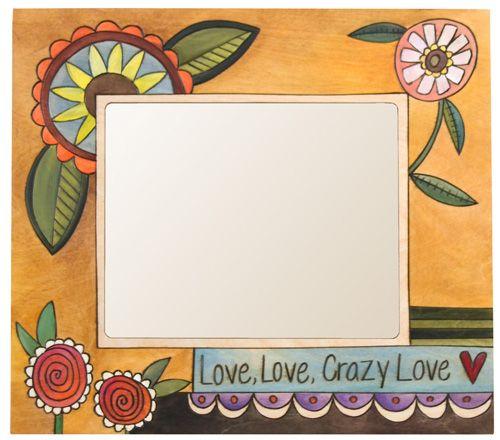 Love, Love, Crazy Love Picture Frame | Art | Pinterest | Craft ...