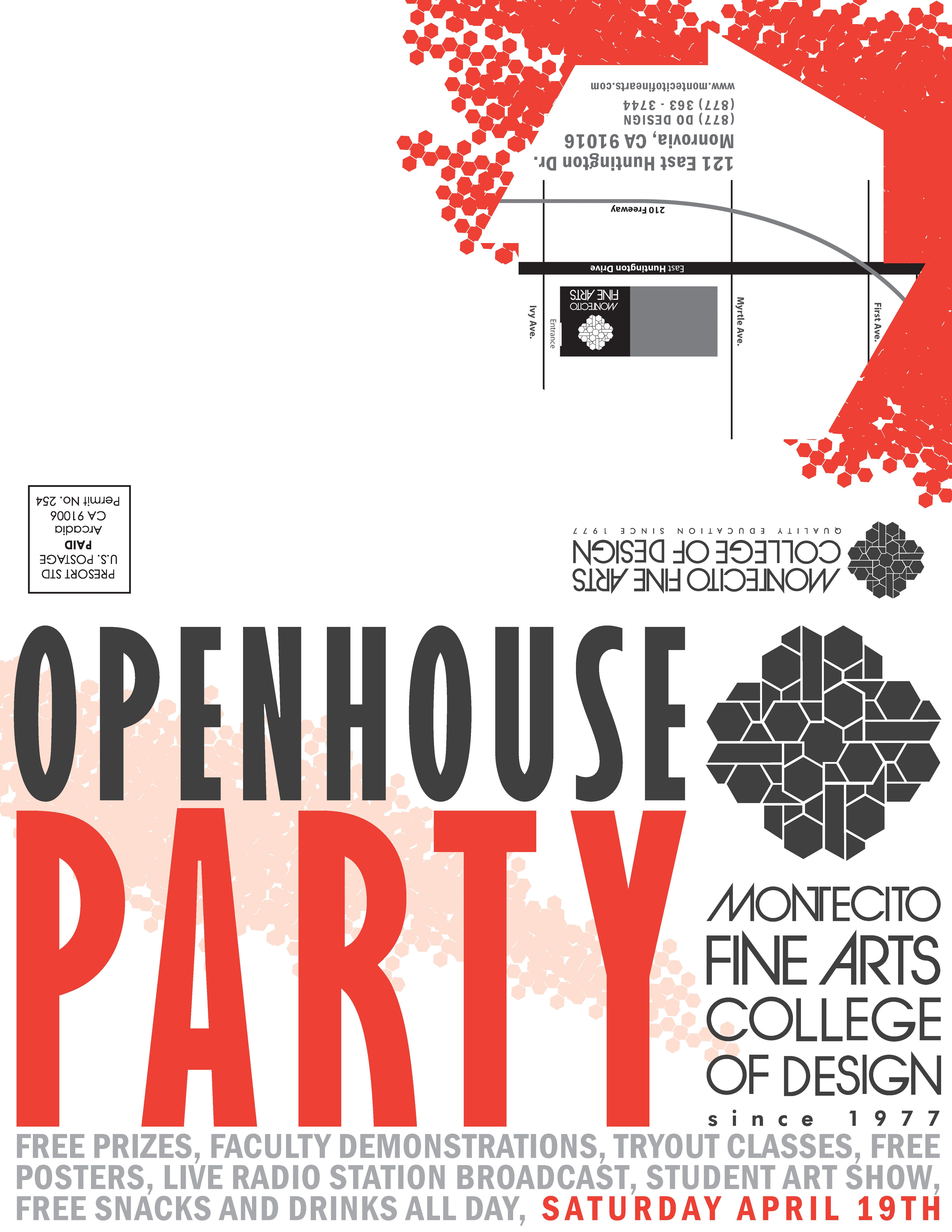 MFA Open House | Open house and Brand design