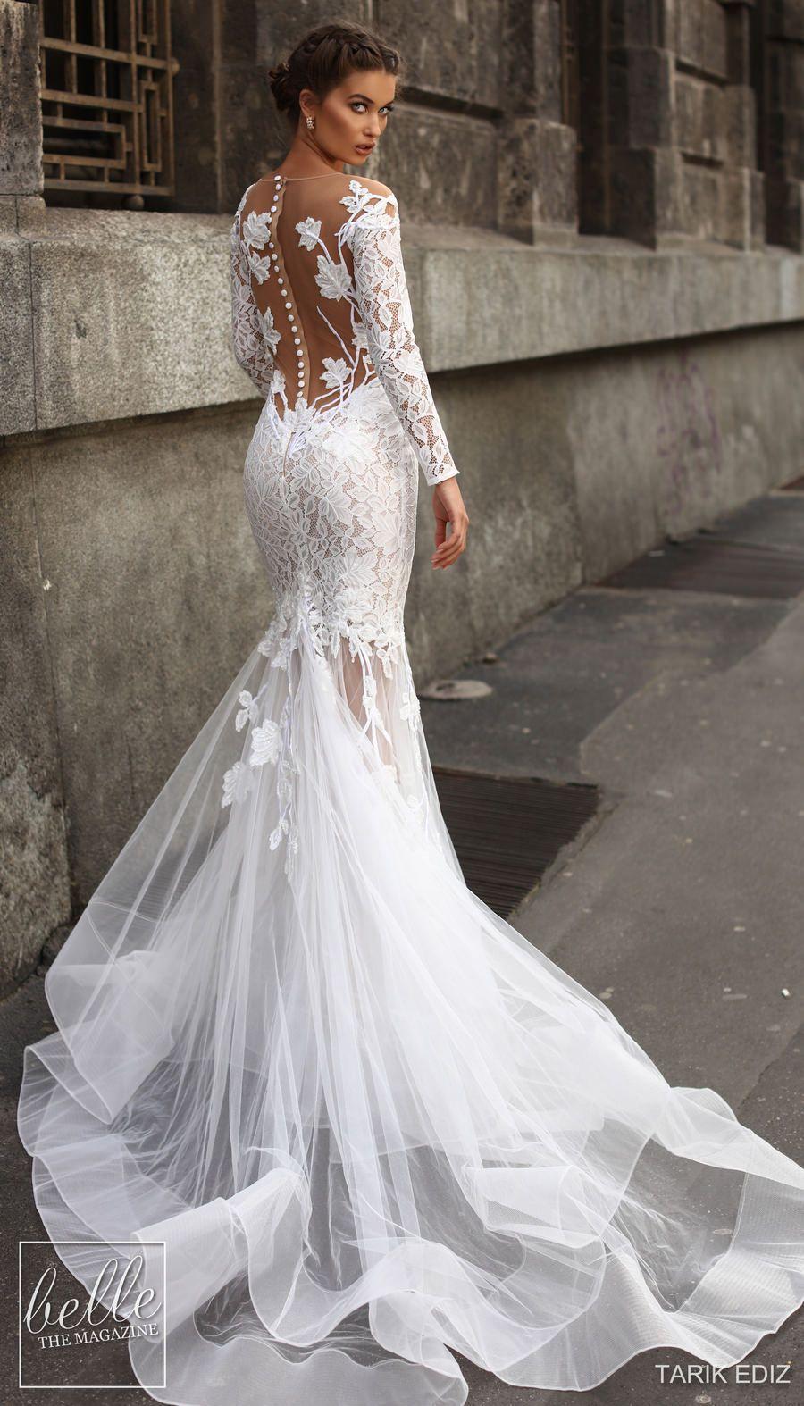 Tarik Ediz Wedding Dresses 2019 Belle The Magazine Wedding Dresses Plain Wedding Dress Beach Bridesmaid Dresses
