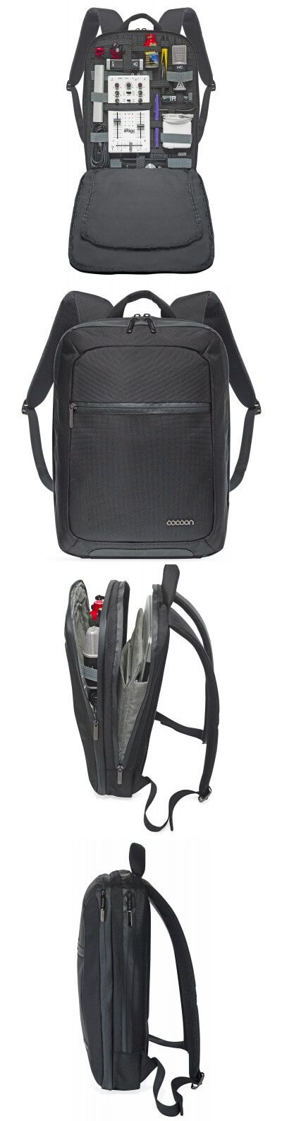 cocoon SLIM backpack with GRID! IT