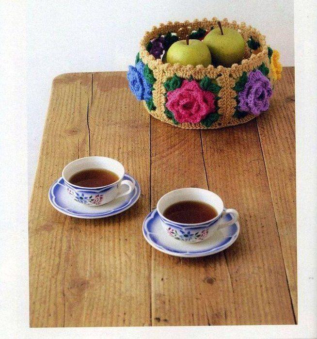 -Manualidades a crochet para tu casa