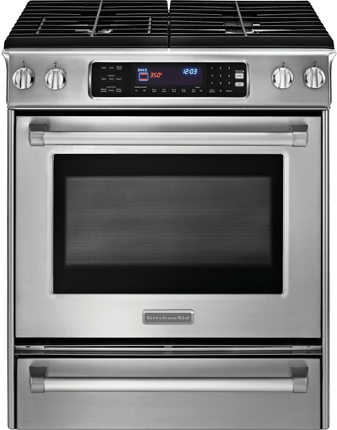 Cooking products kitchenaid pro line series 30 slide