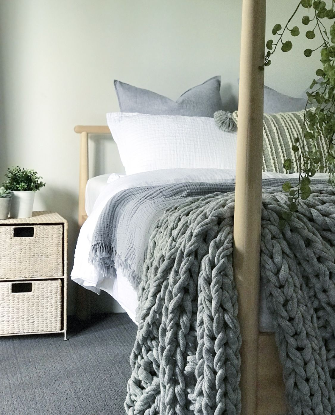 Ikea GJÖRA bed. Adairs bed linen. | House hold style for my husband ...