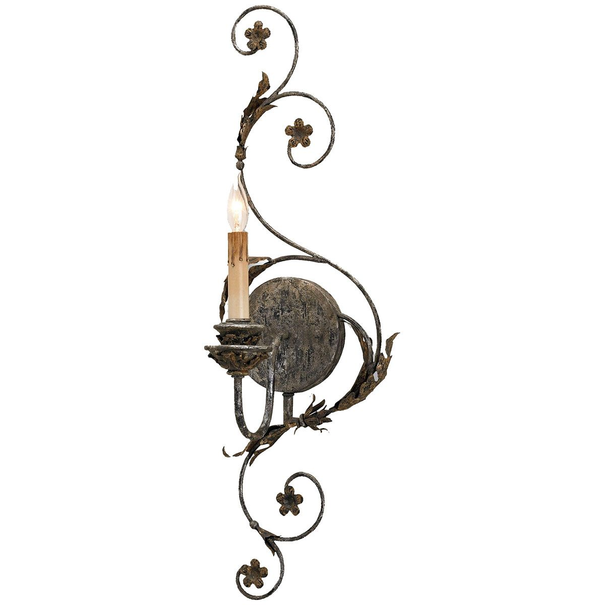 Currey and Company Infinity Wall Sconce 5047