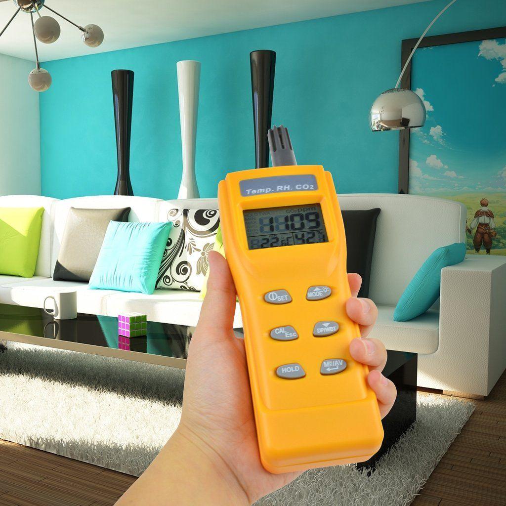 AZ Instrument AZ7755 CO2 Monitor Appareil de mesure