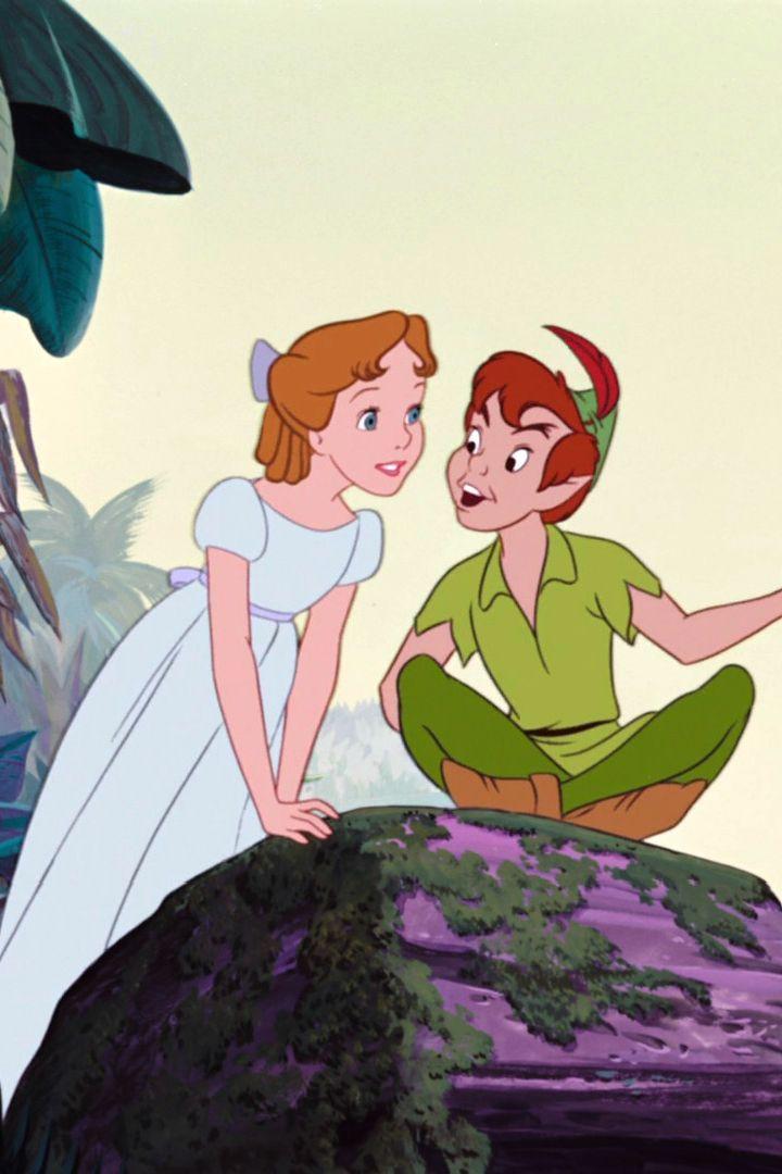 ウェンディと♪ ディズニー ピーターパンの画像