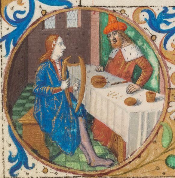Stundenbuch aus Paris Paris / Tours · zweites Viertel des 15. Jahrhunderts / um 1490 Cod. 101 Folio 93r