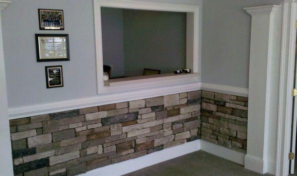 Custom Stone Veneer Accent Wall Dream Home Pinterest