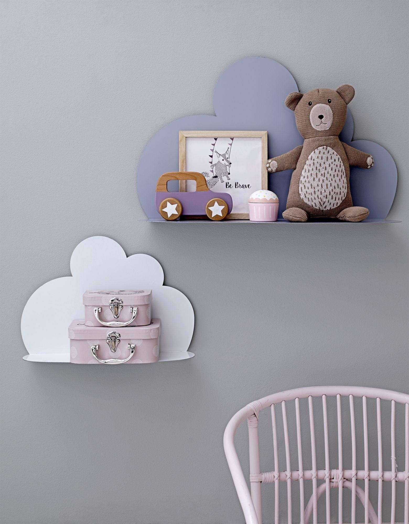Cloud Shelves Nursery Rose And Blue Bloomingville