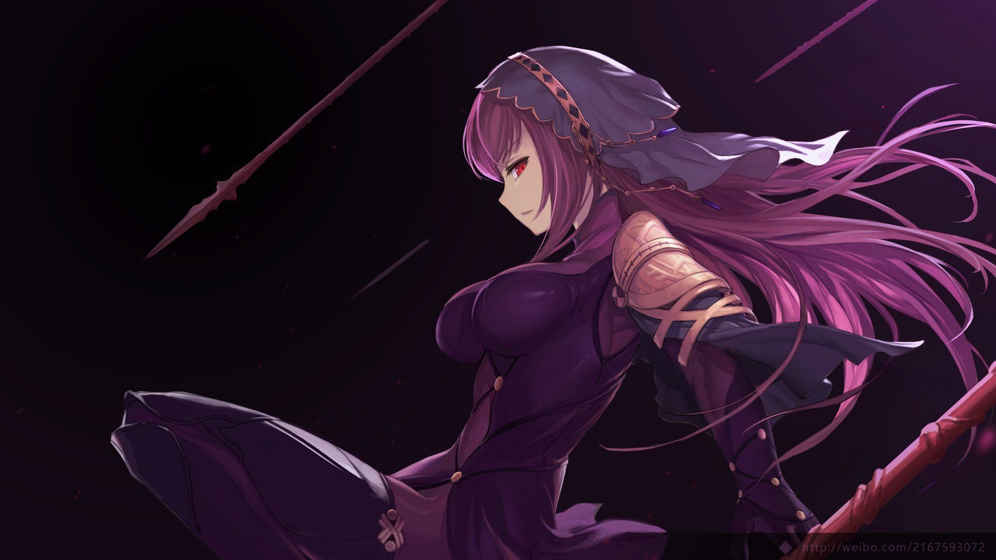 Scáthach【Fate/Grand Order】 Prismas